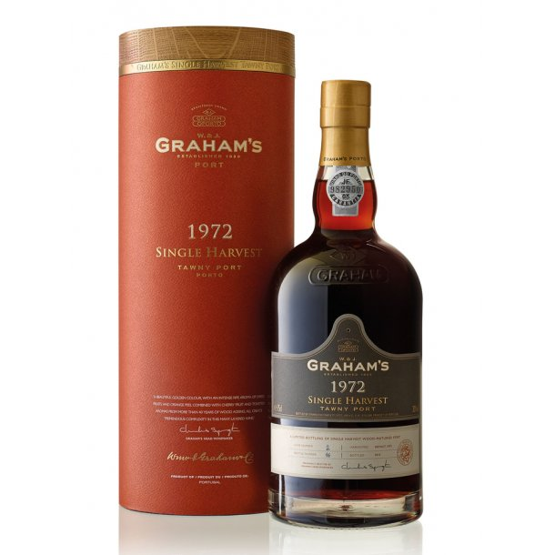 1972 Graham's Single Harvest Tawny