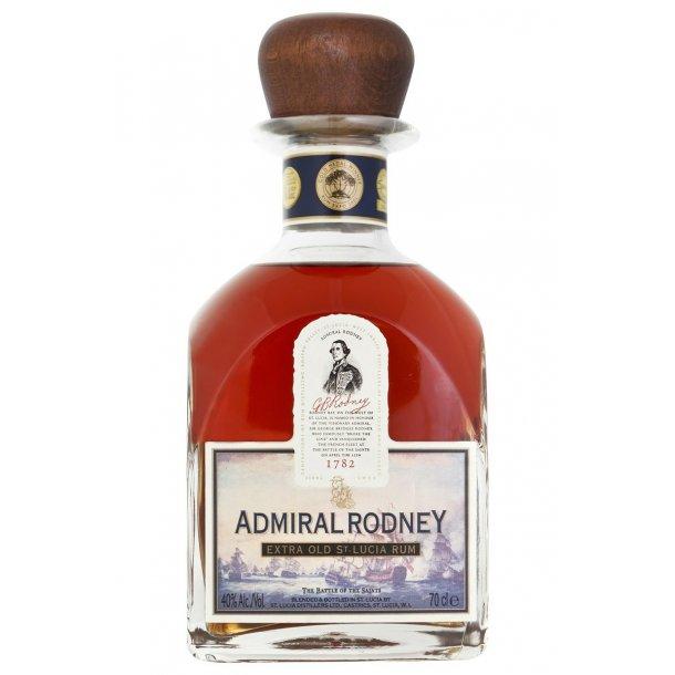 Admiral Rodney, Saint Lucia Rums, 40%