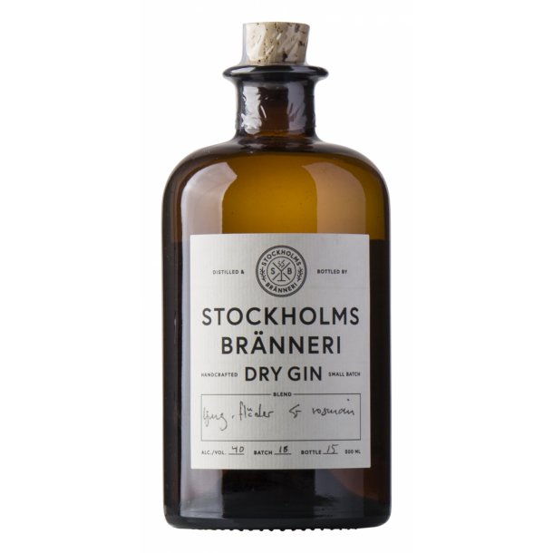 Stockholms Bränneri Organic Gin 40%, 50cl