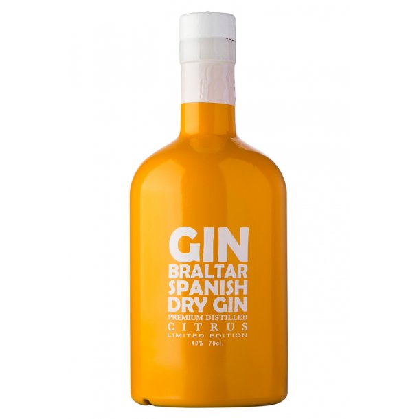 Ginbraltar Citrus Dry Gin 40%, 70cl