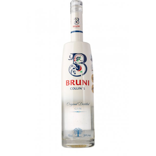 Bruni Collins Gin 39%, 70cl