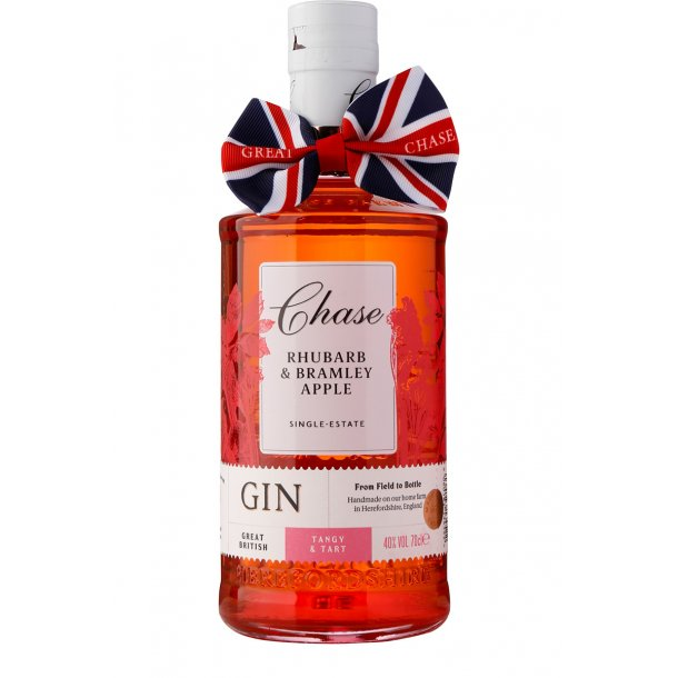Chase Rhubarb / Barmley Apple Gin 40%, 70cl