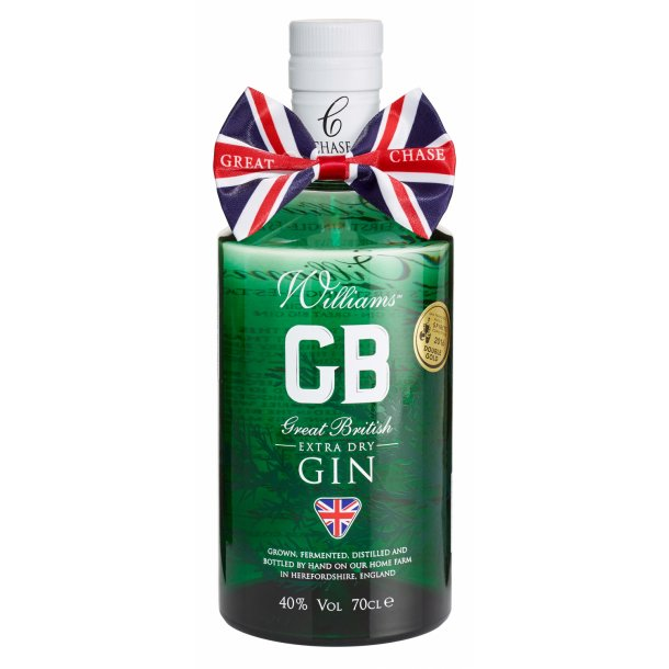 Williams GB Extra Dry Gin 40%, 70cl