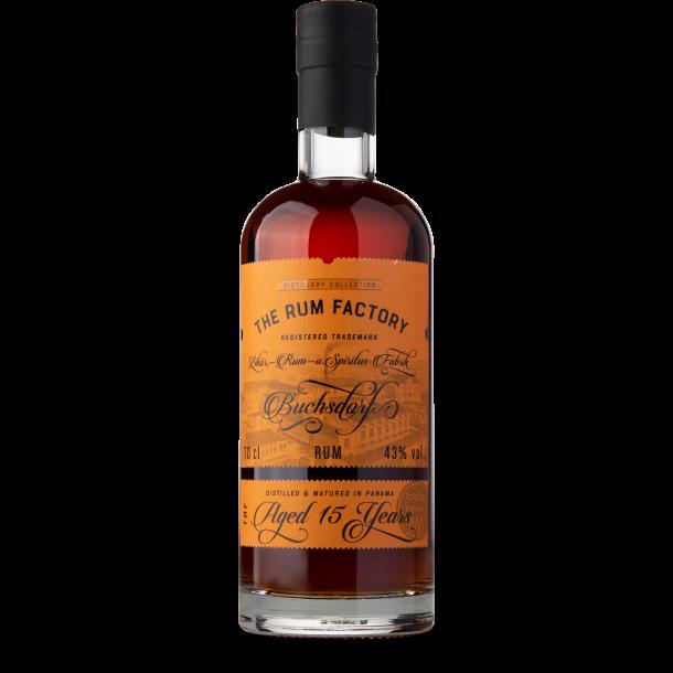 Rum Factory Panama 15 Years, 43%, 70cl